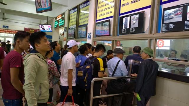 Hà Nội: Đảm bảo nhu cầu đi lại của người dân dịp nghỉ lễ
